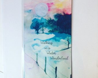 Winter Wonderland dasboard