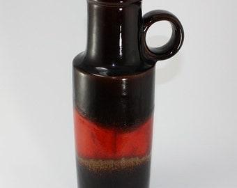 West Germany Fat Lava Pottery Vase 401-28