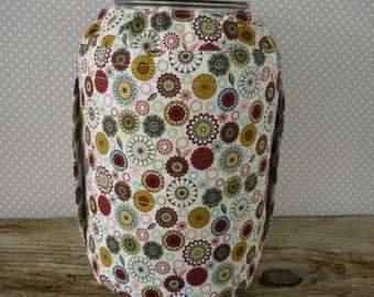 One gallon jar cozy/fermenting jar cover/kombucha jar cover/raw milk jar cover