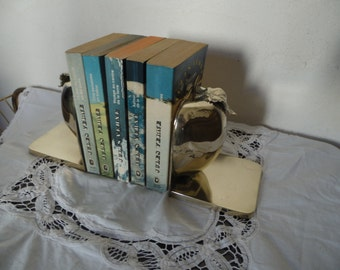 Greenhouses books brass; brass, form Apple, brilliance, vintage, deco chic, classic, shabby, chic gift idea, deco office.
