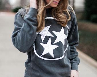 TriStar Comfort Colors Sweatshirt Pepper