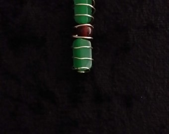 Beads in a Cage Necklace