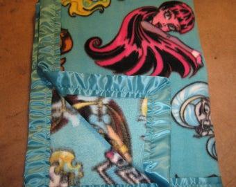 Soft Fleece Monster High Blanket