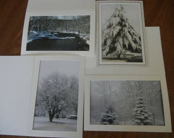 Winter Wonderland Photo Note Cards