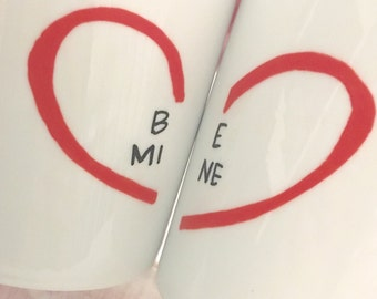 Valentine's Mug - Valentine's Day Mug - Valentine's Day Gift - Mug - Valentine Gift For Her - Valentine Gift For Him - conversation hearts