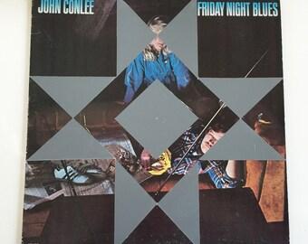 Vintage Record Barn Quilt - John Conlee