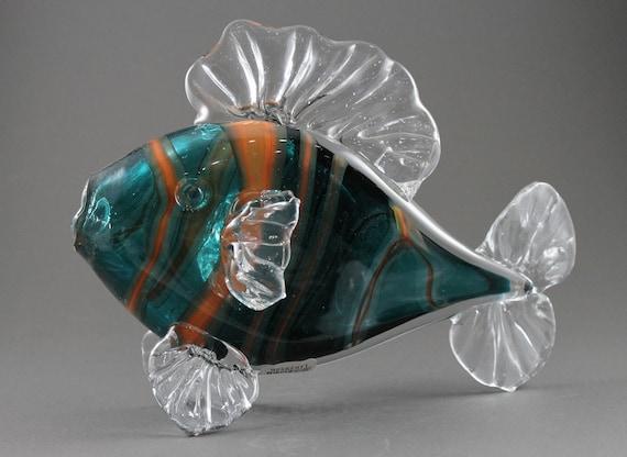 Hand Blown Glass Fish