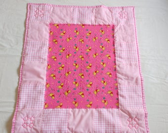 Baby Girl Quilted Blanket