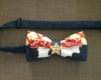 Disney Inspired Sheriff Woody Adjustable Bow Tie