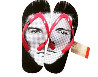 Limited Edition One Direction Flip Flops #FaceFlips, Harry Louis, Niall, Liam and last ever Zayn