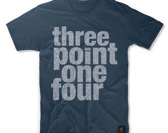Three Point One Four Men's T shirt
