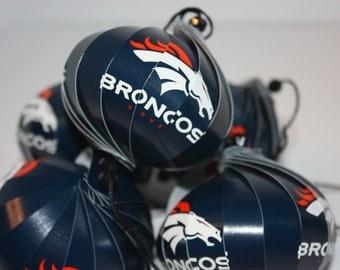 Denver Broncos NFL Ornaments : Single or Set of 5