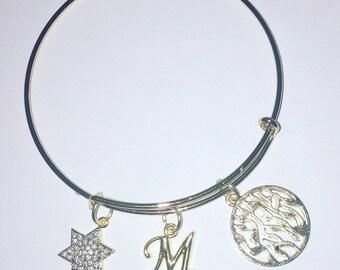 Shema yisrael bagle.  Shema yisrael bracelet.  Shema israel.