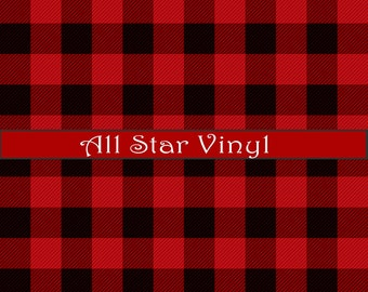 Pattern vinyl, Buffalo plaid, lumberjack plaid ,plaid viny, htv plaid, Outdoor vinyl, and HTV vinyl