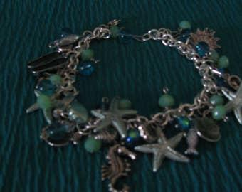 Beach Theme Charm Bracelet