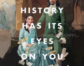 History Poster Print