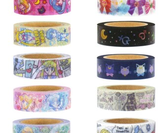 Sailormoon Masking Tapes