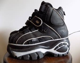 June !BIG! Sale!!!  Vintage Buffalo Sneakers 90s Platform Industrial  EU 36