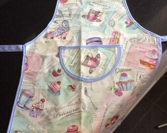 Kids apron oilcloth