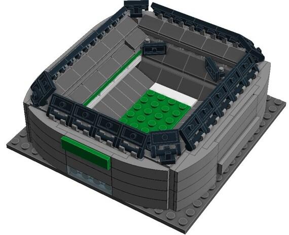 Mini New York Jets MetLife Stadium Custom Brick Set with
