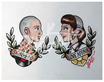 "Print ""Skinhead Love Affair"""