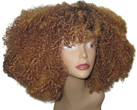 ... Burst Afro Natural Hair VA VA Voom Afro kinky Curly Wig Unit 4b 4c 4a