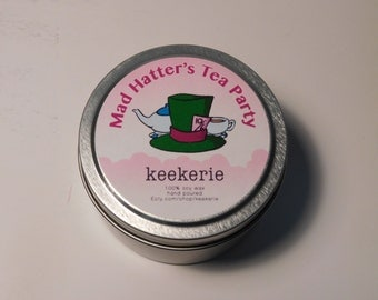 Mad Hatters Tea Party Soy Candle