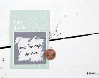 25 pieces/scratch card scratch card for you * - mint