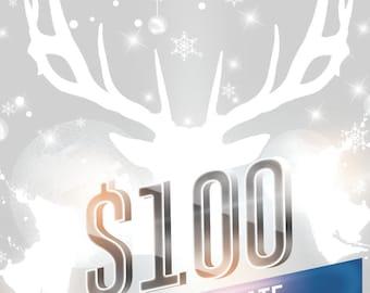 100 Dollar Gift Certificate