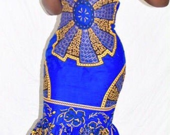 Ankara Gown, Dashiki Dress, African Prom Dress,Ankara Dress/ African Dress, African Styles,African fashion,African Fabric,African Clothing.