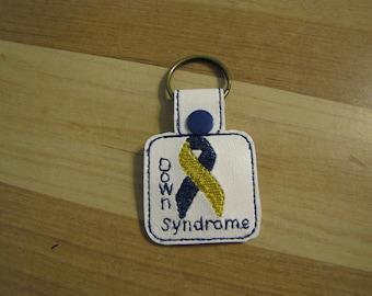 Down Syndrome Key Fob