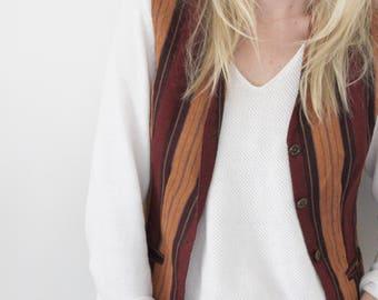 Vintage Striped Vest