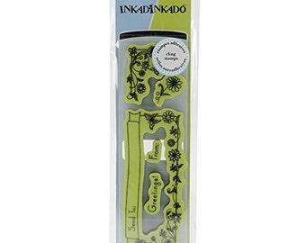 Inkadinkado Cling Stamp, For The Envelope