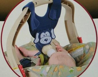 bebe Blue Puppy bottle sling