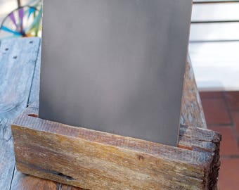 Rustic Chalkboard - Fence Post Base (Large) (B100)