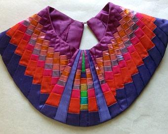 Carol Sarkisian textile neckpiece