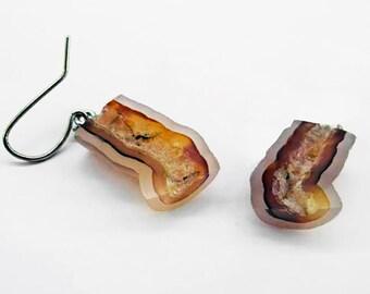 Petrified Coral Earrings