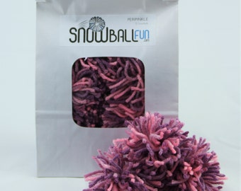 Indoor Snowballs, Peripinkle, 12-Pack