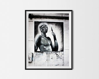 Maasaï - Printed Photo - Street Art - 42 x 30 cm