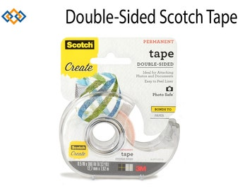"DOUBLE-SIDED Scotch Scrapbooking Photo Tape, .5"" x 300"""