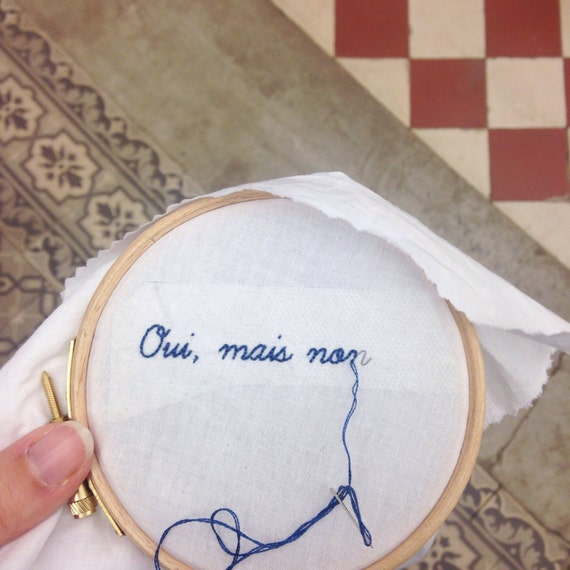 Yes, but non - Extra EASY EMBROIDERY