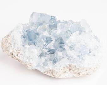 Celestite | Celestite Crystal | Celestite Cluster | Celestine | Celestite Geode | Raw Celestite | Raw Crystal | Healing Crystals | CEL40