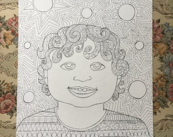 Customize It! Coloring Page