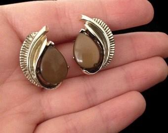 Vintage Earrings - Screw Back Earrings -1970s Earrings - 70s Earrings - Costume Jewelry - Vintage Jewelry - Unique Jewellery - Gift for Wife