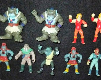 Thundercats Miniature Figures by Telepix vintage 1986 collection lot