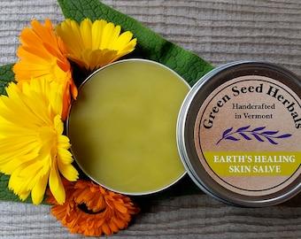 Earth's Healing Skin Salve ~ Green Salve
