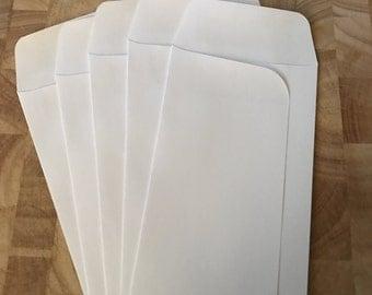 Plain Bank Envelopes