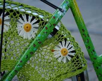Bicycle skirt guard - Daisy