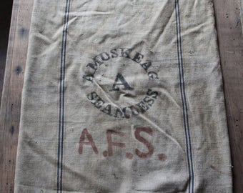 Amoskeag Seamless canvas seed sack