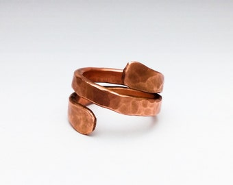 Karma Wrapped Copper Ring